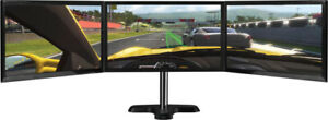 ULTRA-SLIM Samsung Triple Monitors + Stand TOTAL 69""