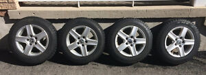4 Winter Tires and Rims VW Jetta