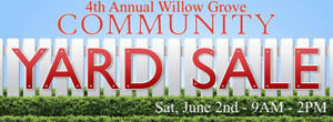 4th Annual Willow Grove Community Yard Sale