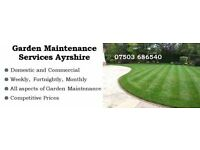Garden Maintenance Services Ayrshire