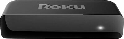Roku Premiere 4K Streaming Media Player - Black - Player and Cables ONLY READ VG