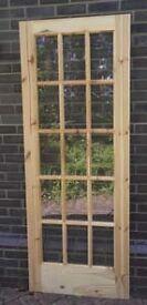Glazed 15 Pane Internal Door