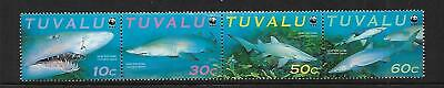 2000 Sharks set of 4 Complete MUH/MNH as issued