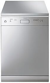 Dishwasher Smeg DF613SDX stainless steel free standing 60cm IMMACULATE