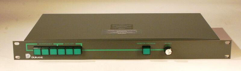 DuKane Control Panel - Model 1A954