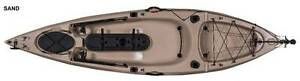 10 foot SOT Fishing Kayak with RUDDER PLUS paddle PLUS seat West Gosford Gosford Area Preview