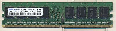 512 Mb Ddr Modul (Samsung 512 MB DDR2 533 PC2 4200 RAM Modul)