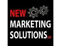 Sales and Customer Relations Executive for New Marketing Solutions
