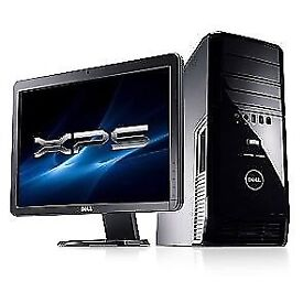 Dell XPS 430 Quad Core - Cad -Adobe- MineCraft Gaming - -Desktop Computer PC With Dell 21""