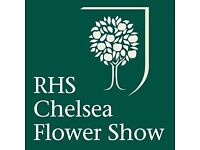 Two tickets for Chelsea Flower Show 5:30 - 8pm, Friday 26 May 2017.