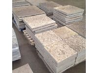 Patio flagstones - about 40