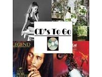 CDs To Go Starting from £1.50!!