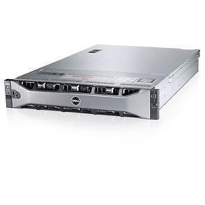 Dell PowerEdge R720 Server 192GB RAM 2X E5-2670 2.6GHz 8x900GB-SAS Enterprise Storage, 16-CORES