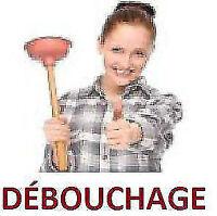 Plombier-débouchage/plumber-unclogging/ CAMERA 438-875-4003