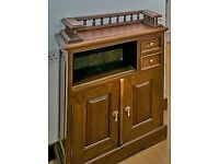 SOLID WOOD TELEPHONE TABLE - HOUSE MOVE FORCES SALE