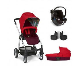 Mamas and Papas - Sola 2 Red Travel System