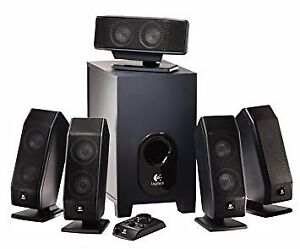 Logitech X-540 5.1 surround sound speakers
