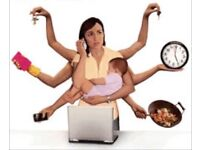 If you are a busy mom I can help you some around the kids and clean up after Your house
