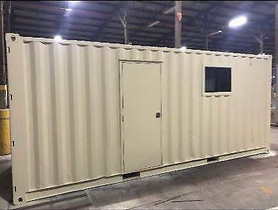 CUSTOM CONTAINER OFFICE, SITE SHED, GRANNY FLAT PORTABLE BUILDING