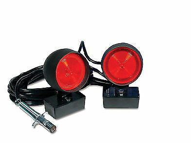 Used, Custer Incandescent Square Base Heavy Duty Towing Lights for sale  Shipping to Canada