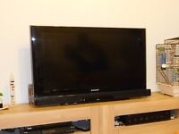 "Samsung 37"" HD Ready Freeview TV + Sharp Sound Bar System"
