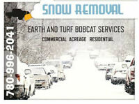 Bobcat Snow Removal and Sanding Services