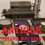 ANTIQUE-Adding Machine