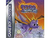 game boy advance games/spyro season of ice boxed with book/holy magic century boxed woth book