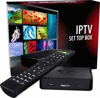 MAG 254 AVOV TVONLINE INDIAN IPTV service $15/month