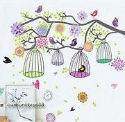 Tree Bird Wall Sticker
