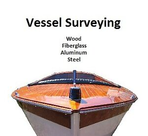 Vessel surveying / inspections for all boat types