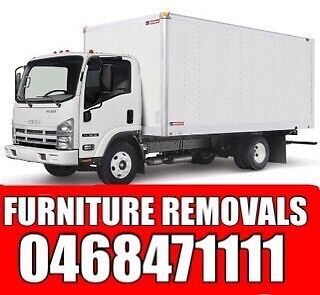 FURNITURE REMOVALS > 1 BEDROOM HOUSE $190 FLAT WITH 2 PERSONS Adelaide CBD Adelaide City Preview