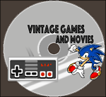 Vintage Games and Movies