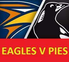 1-6 WEST COAST EAGLES V COLLINGWOOD MAGPIES TICKETS Subiaco Subiaco Area Preview