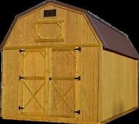 Storage sheds, barns, garages, cabins