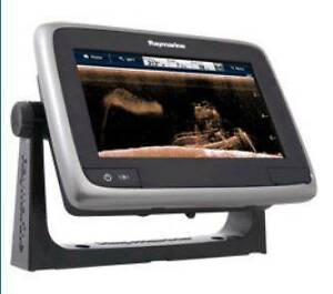 Raymarine a78 Touchscreen MFD Chartplotter with Downvision Kilkenny Charles Sturt Area Preview