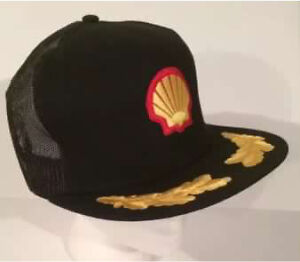Vintage Shell gas station advertising hat.