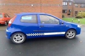 Fiat punto 54 plate and Ford Fiesta 53 plate swap what you got
