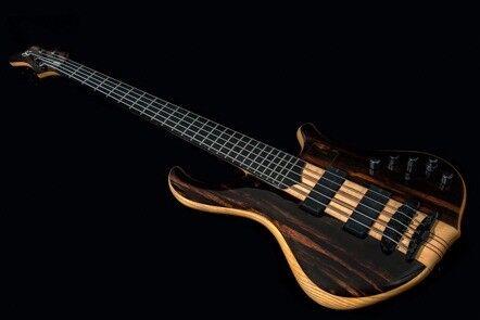 Rare Mayones Slogan 5 String Active/Passive Bass in Mint condition inc Original Hardcase