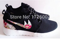 2015 new design flower roshelis trainer's women shoe