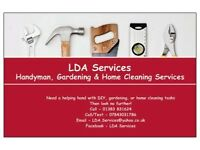 Handyman, Decorating & Gardening Services - Fully Insured