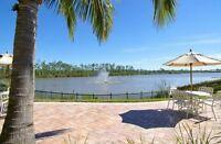 Naples, Florida, Luxury 2BR/2BA Condo, High-end gated community