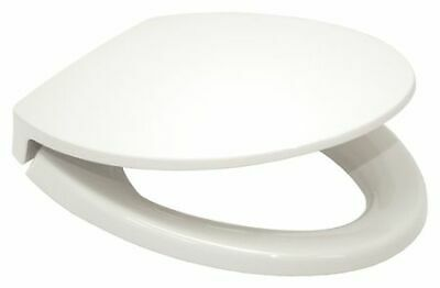 TOTO SS114#01 Toilet Seat, With Cover, polypropylene, Elonga