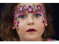 Professional face painting and glitter makeup ✨ face painter and make up artist in London