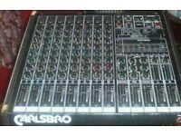 Carlsbro Power Mixer
