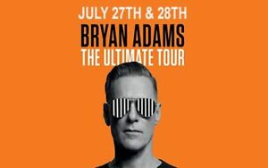 Bryan Adams Concert Tickets