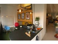 Co-working desk space to rent at 'The Hutch' - A creative, central Brighton studio. £160/month