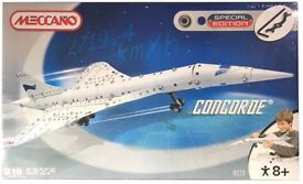 MECCANO - CONCORDE • SPECIAL EDITION • 316 PIECES • VERY RARE - NEW & SEALED!! •