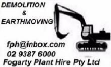 Sydney Machinery Hire Parramatta Parramatta Area Preview