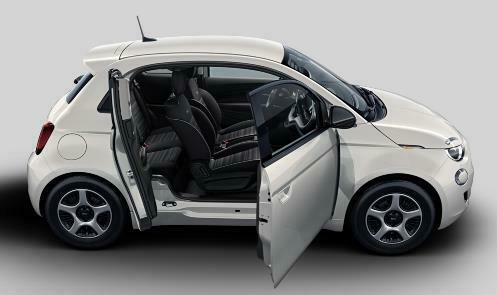 FIAT 500 Passion 3+1 full electric